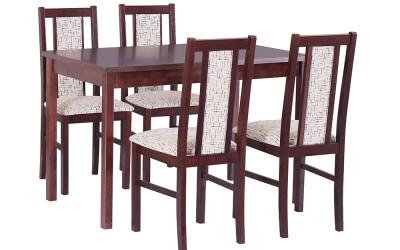 Стол MAX VI со стульями BOSS XIV