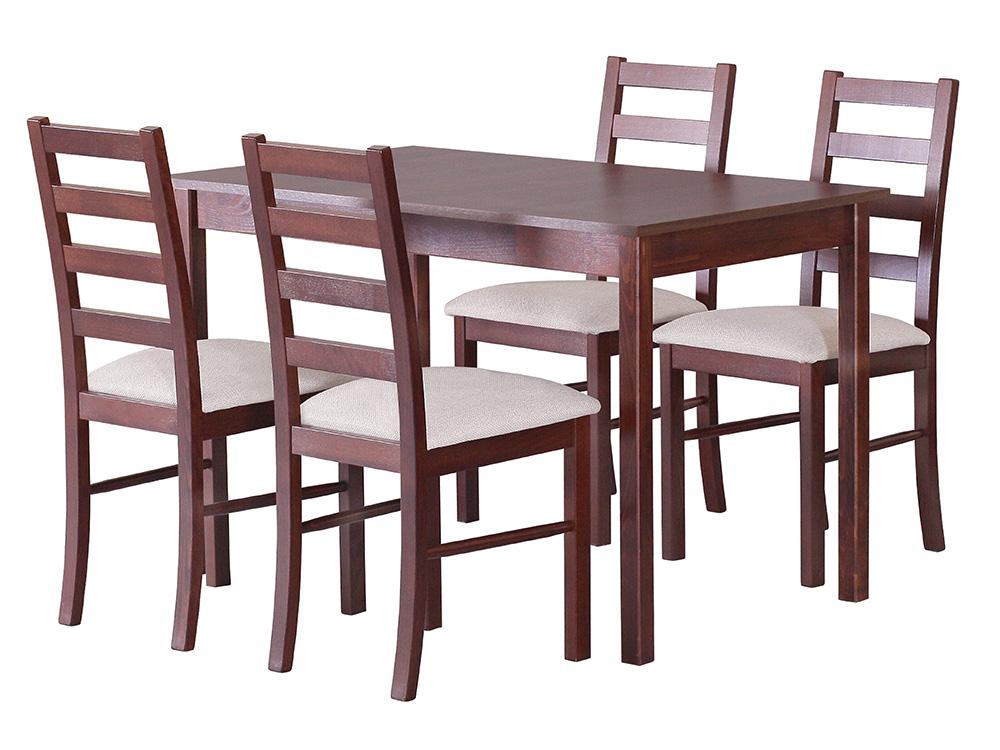 Стол MAX II со стульями NILO VIII