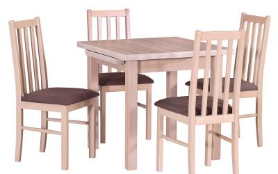Стол MAX VII со стульями BOSS X