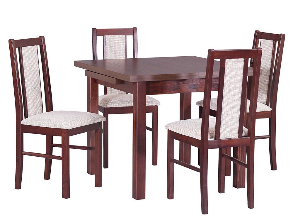 Стол MAX VIII со стульями BOSS XIV