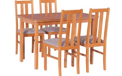 Стол MAX III и стулья  BOSS XI