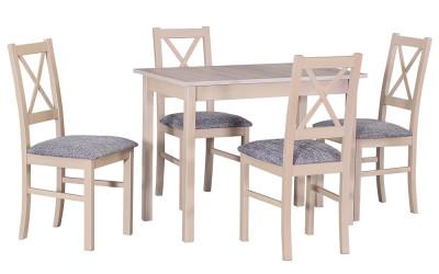 Стол MAX IV со стульями BOSS VII- 2
