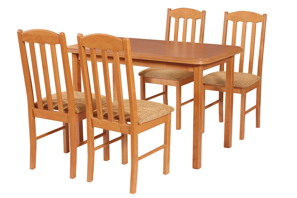 Стол MAX IV со стульями BOSS VIII