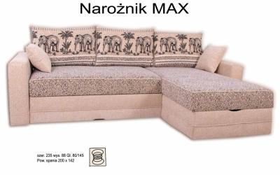 Угловой диван MAX