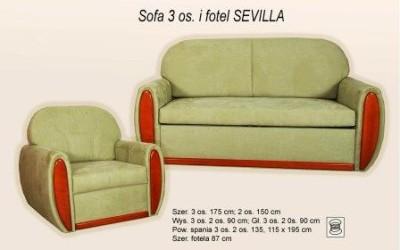 Комплект мягкой мебели Sevilla