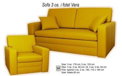 Комплект мягкой мебели Vera