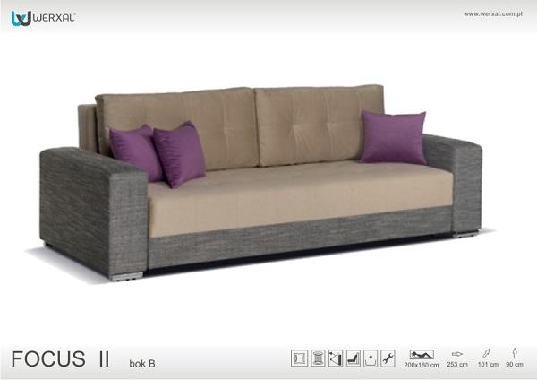 Диван-кровать Focus II type B