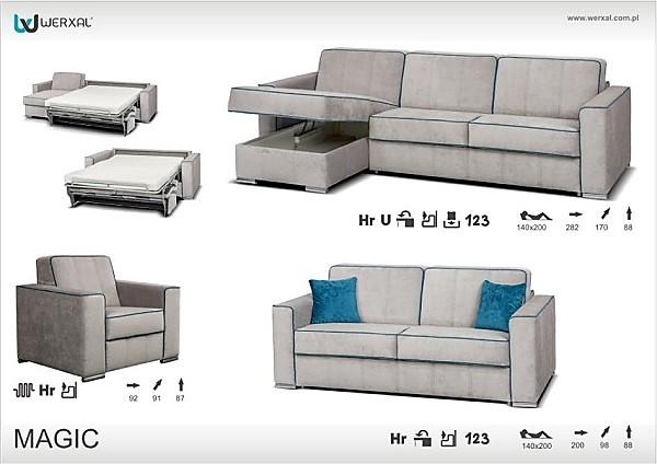 Угловой диван-салон Magic