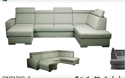 Комплект угловой мягкой мебели Ontario II